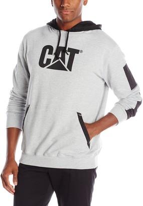 Caterpillar mens1910812Lightweight Tech Hooded Sweatshirt Long Sleeve Shirt - gray - XL