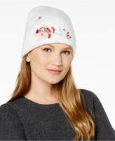 INC International Concepts I.n.c. Floral Embroidered Beanie, Created for Macy's