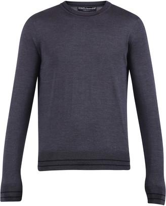 Dolce & Gabbana Grey Sweater