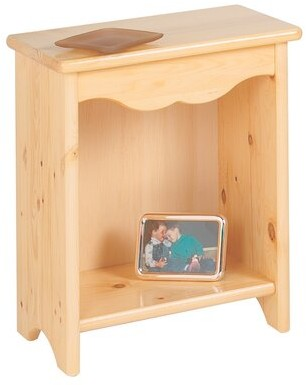 Harriet Bee Ventnor Toddler Nightstand Color: Natural Lacquer