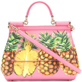 Dolce & Gabbana pineapple print Sicily tote - women - Leather - One Size