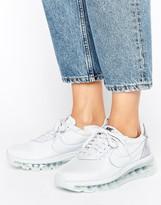 Nike Premium Ld Zero Trainers In Pure Platinum With Metallic Detail
