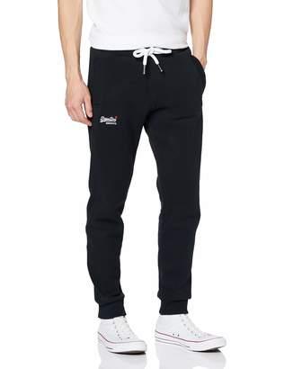 Superdry Men's Orange Label Jogger Solid color Slim Sports Trousers