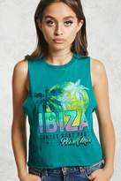 Forever 21 Ibiza Graphic Tank Top