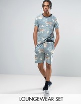 Asos Pajama Set With Tiger Print