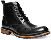 Steve Madden Men's Swavay Wing-Tip Boots
