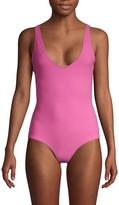 Rochelle Sara Scoopneck One-Piece Swimsuit