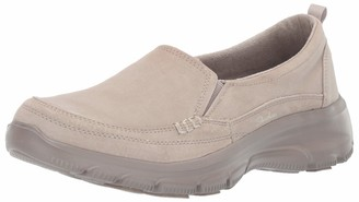 Skechers Women's Easy Going-Matcha-Twin Gore Slip-on Loafer