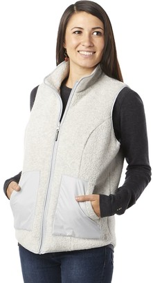 Smartwool Anchor Line Reversible Sherpa Vest - Women's
