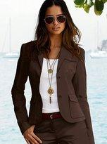 Safari jacket in stretch cotton