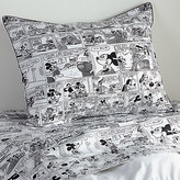 Disney Mickey Mouse Comic Strip Sham by Ethan Allen