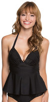 Betsey Johnson Malibu Solids Tankini Top