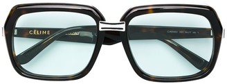 Celine Square Tinted Sunglasses