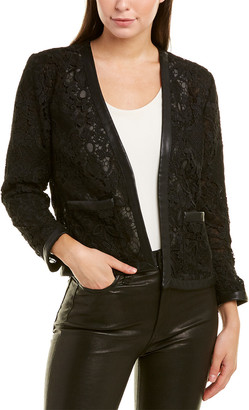 The Kooples Botanique Lace Blazer