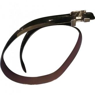 Louis Vuitton Black Patent leather Belts