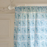 Minted Mod Cubes Curtains