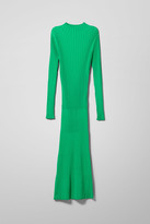 Weekday Nicola Knitted Dress - Green
