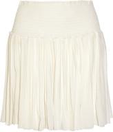 Etoile Isabel Marant Arielle pleated georgette mini skirt