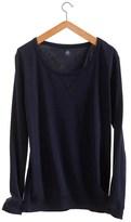 Petit Bateau Womens loose cotton sweatshirt