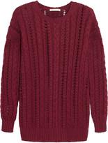 Autumn Cashmere Cable-knit cotton sweater