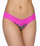 Hanky Panky Leopard Signature Lace Low Rise Thong