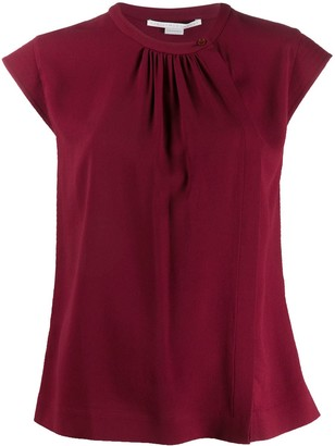Stella McCartney pleated T-shirt