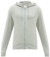 Calvin Klein Underwear Zip-through Cotton-blend Hooded Sweatshirt - Mens - Grey