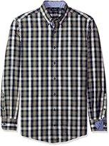 Nautica Men's Big and Tall Cord Plaid Shirt