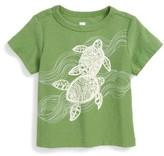 Tea Collection Infant Boy's Batik Turtles T-Shirt