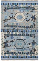 Ecarpetgallery Handwoven Esme Rug - 5ft x 8ft - Light Blue