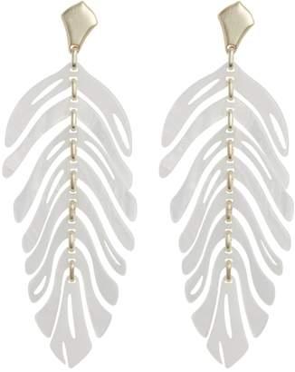 Kendra Scott Lotus 14K Gold Plated Earrings