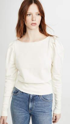 AG Jeans Walker Puff Sleeve Sweatshirt