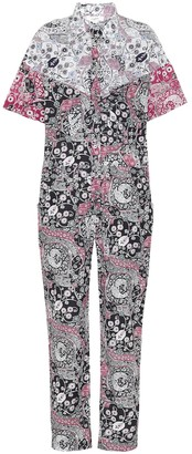 Etoile Isabel Marant Udena printed cotton jumpsuit