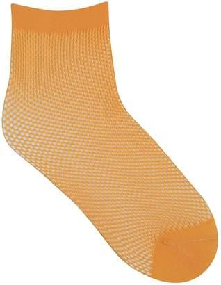 Bleu Foret Women's Colourblock Ankle Socks