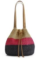 Kelly & Katie Laguna Stripe Bucket Shoulder Bag
