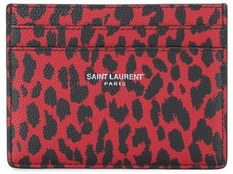 Saint Laurent credit card case