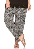 M&Co Plus paisley print trousers