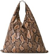MM6 MAISON MARGIELA snakeskin effect tote bag - women - Polyester - One Size
