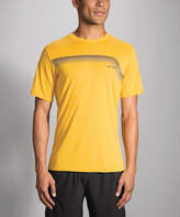 Brooks Heather Finch Track Tee