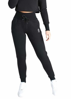 Gym King Women Jogger Clothing Sky Jogpants Casual Fashion Sport Style WTB-F21M6 New (10 / M/Waist 66-70 cm) Black