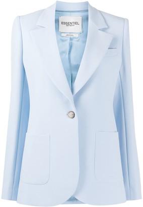 Essentiel Antwerp Vactive single-breasted blazer