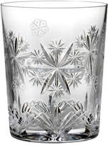 Waterford Crystal Snowflake Wishes 2016 Wishes for Serenity Clear Double Old-Fashioned
