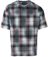 Lanvin checked pattern T-shirt - men - Virgin Wool - XS