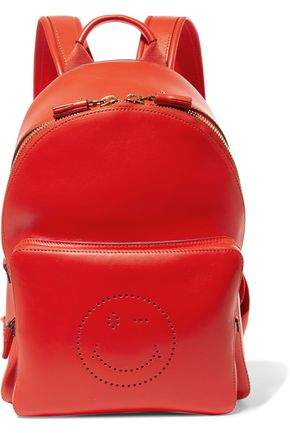 Anya Hindmarch Perforated Leather Backpack