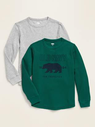 Old Navy Thermal-Knit Tee 2-Pack for Boys