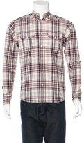 IRO Plaid Woven Shirt
