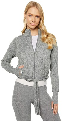Puma Studio Adjustable Jacket (Medium Gray Heather) Women's Coat