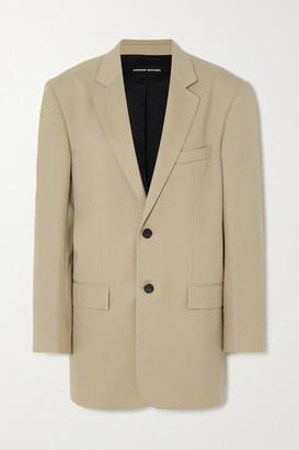 Kwaidan Editions Oversized Wool-blend Blazer - Beige