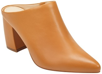 Marc Fisher Pointed Toe Heeled Mule