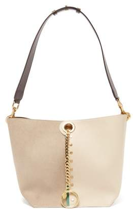 See by Chloe Gaia Suede And Leather Tote Bag - Womens - Beige Multi